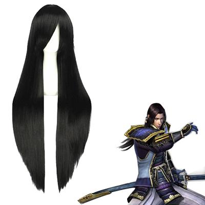 Samurai Warriors Akechi Mitsuhide Black Cosplay Wig