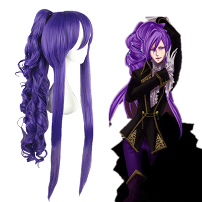 Vocaloid Gakupo Pruple 90cm Cosplay Wig