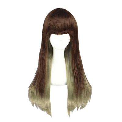 Japanese Harajuku Sweet Lolita Zipper 65cm Cosplay Wig