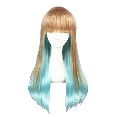 Kawaii Harajuku Long Sweet Lolita Zipper Cosplay Wig