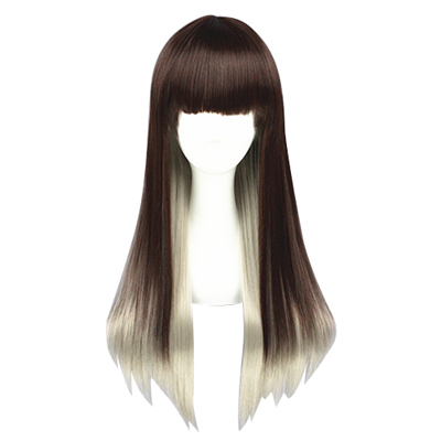 Lolita Sweet Harajuku Zipper 65cm Cosplay Wig
