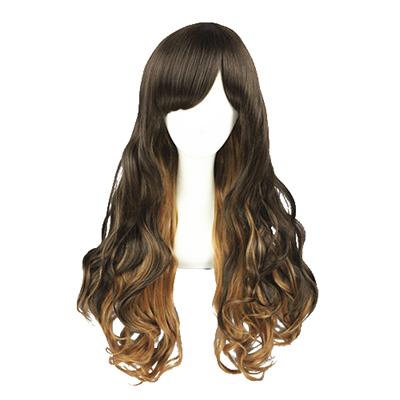 Lolita Cute Harajuku Zipper 65cm Cosplay Wig