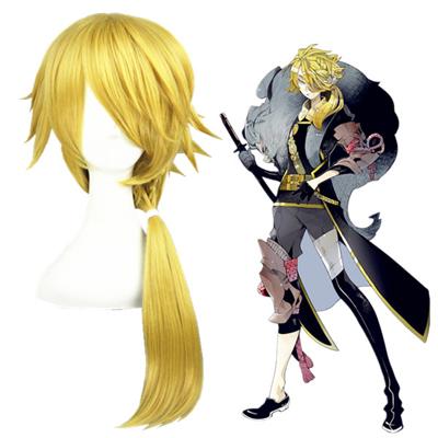 Touken Ranbu Online Shishiou Golden Cosplay Wig