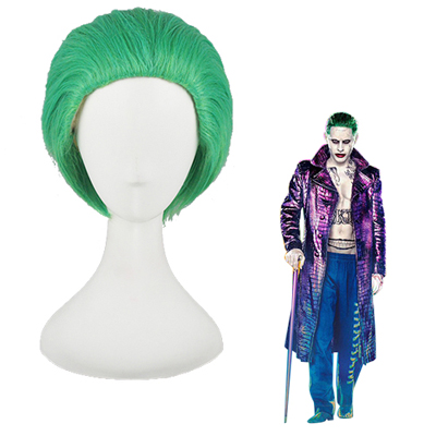Suicide Squad Joker Green Cosplay Wig