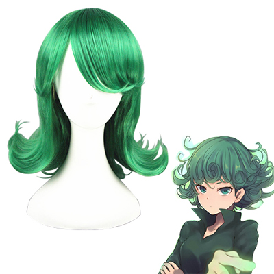 One Punch Man Tatsumaki Green Cosplay Wig