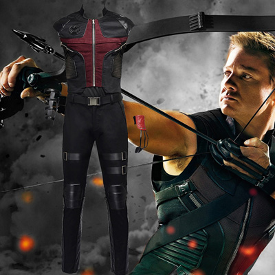 Avengers Hawkeye Cosplay Kostýmy