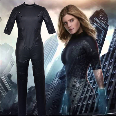 Fantastic Four Invisible Woman Cosplay Kostymer