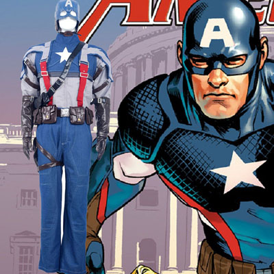 Captain America American Soldiers Cosplay Costumes