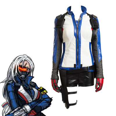 Overwatch Soldier 76 Cosplay Peli Puvut Female Puvut