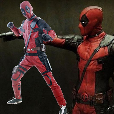 Deadpool Wade Wilson Halloween Cosplay Kostymer