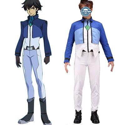 Deluxe Gundam 00 Setsuna F Seiei Celestial Being Cosplay Costumes