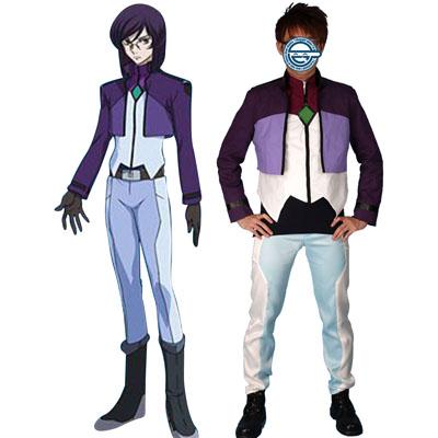 Deluxe Gundam 00 Tieria Erde Noriega Celestial Being Cosplay Costumes
