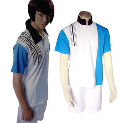 De lujo Disfraces de The Prince of Tennis Hyotel Gakuen Uniforme de Veranos Cosplay