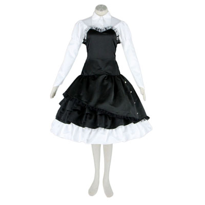 Deluxe Lolita Culture Skirt Tire Bustle Middle Dresses Cosplay Costumes