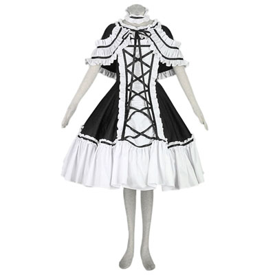 De lujo Disfraces de Lolita Cultura Shawl Spsghitti Tucker Bustle Largo Vestidos Cosplay