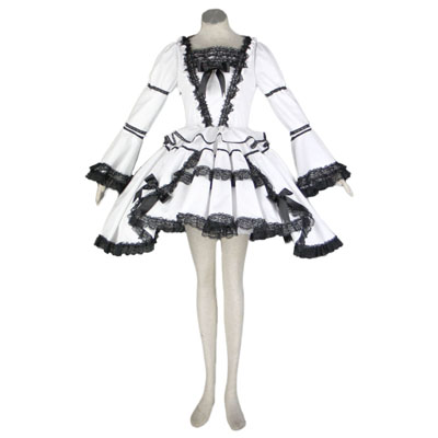 Deluxe Lolita Culture Short Dresses for Women Sets Cosplay Costumes