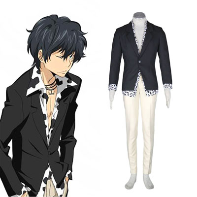 Hitman Reborn Ranbo 1ST Cosplay Costumes Deluxe Edition