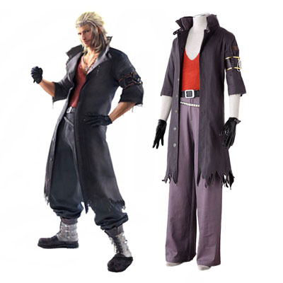 Final Fantasy 13-2 Snow Villiers 2ND Cosplay Costumes Deluxe Edition