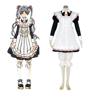 Maria Holic Matsurika Shinōji Maid Cosplay Costume Deluxe Edition
