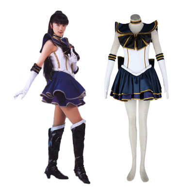 Sailor Moon Meiou Setsuna 2ND Cosplay Costumes Deluxe Edition