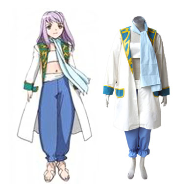 My-Otome Mashiro Blan de Windbloom Cosplay Costumes Deluxe Edition