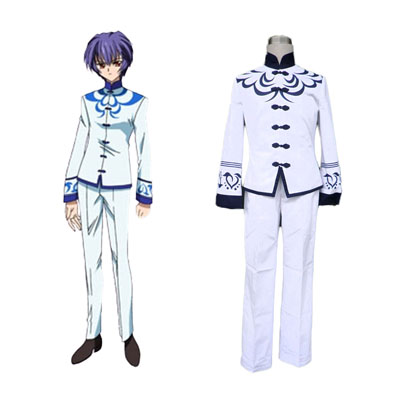 Touka Gettan Male School Työvaate Cosplay Puvut