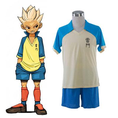 Inazuma Eleven Raimon Kesä Soccer Jersey 1 Cosplay Puvut