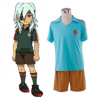 Inazuma Eleven Teikoku Kesä Soccer Jersey 1 Cosplay Puvut
