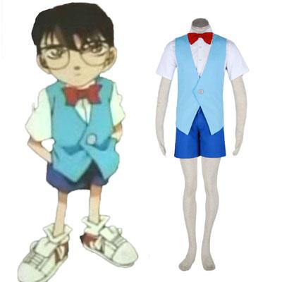 Detective Conan Edogawa Konan Summer Uniform 2ND Cosplay Costumes
