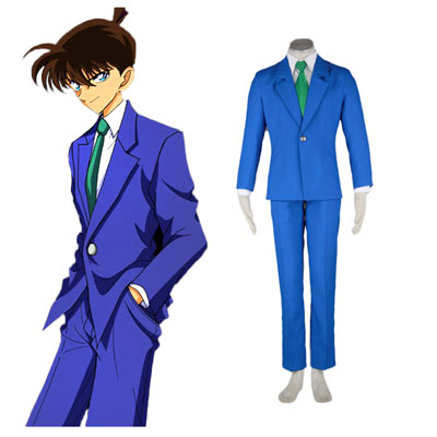 Detective Conan Jimmy Kudo 1ST Cosplay Costumes