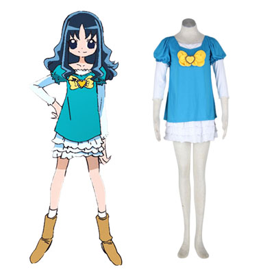 HeartCatch Pretty Cure! Erika Kurumi Cosplay Costumes