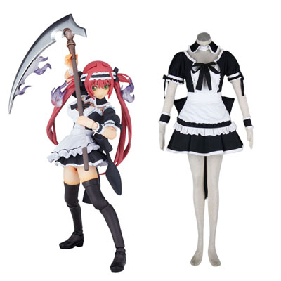 Queen's Blade Airi Maid Cosplay Costumes