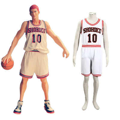 Slam Dunk Hanamichi Sakuragi 2ND Cosplay Costumes