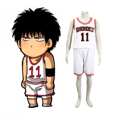 Slam Dunk Kaede Rukawa 2ND Cosplay Costumes