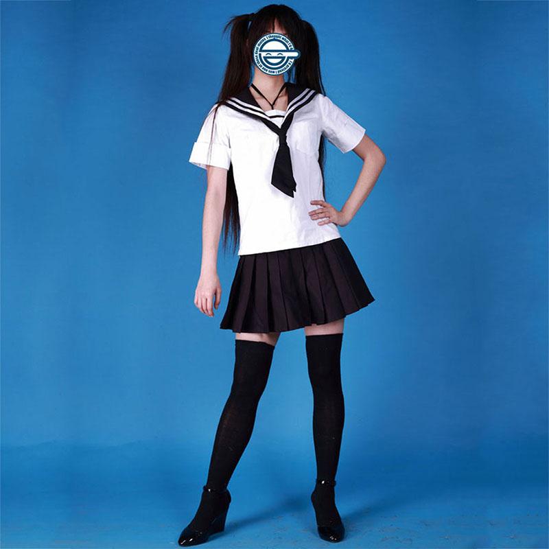 Disfraces Sailor Suit Uniformes 3 Negro Tie Cosplay