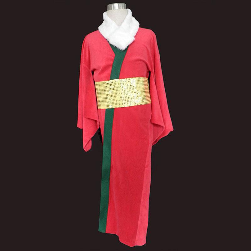 Christmas Red Kimono 1ST Cosplay Costumes