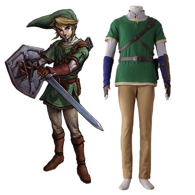 Disfraces The Legend of Zelda Twilight Princess Link 4 Cosplay