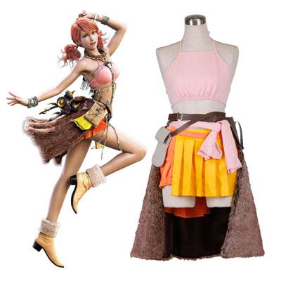 Final Fantasy XIII Oerba Dia Vanille 1 Cosplay Puvut