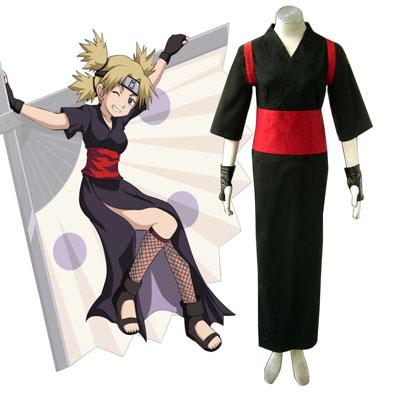 Naruto Shippuden Temari 3 Cosplay Kostymer