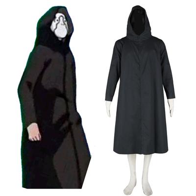Naruto ANBU Cloak 2 Svart Cosplay Kostymer
