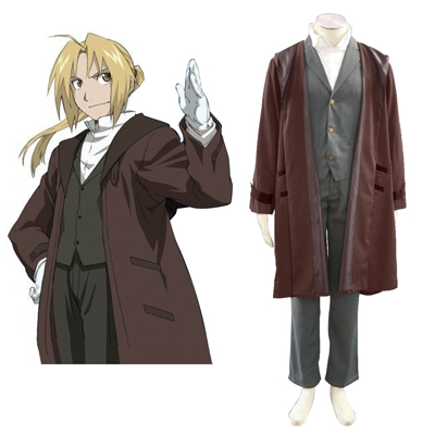 Fullmetal Alchemist Edward Elric 2ND Cosplay Costumes