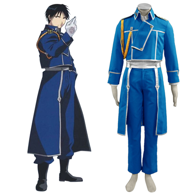 Fullmetal Alchemist Roy Mustang 1ST Cosplay Costumes