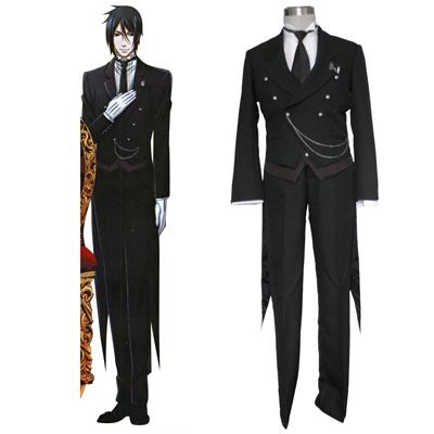 Black Butler Sebastian Michaelis 1ST Cosplay Costumes