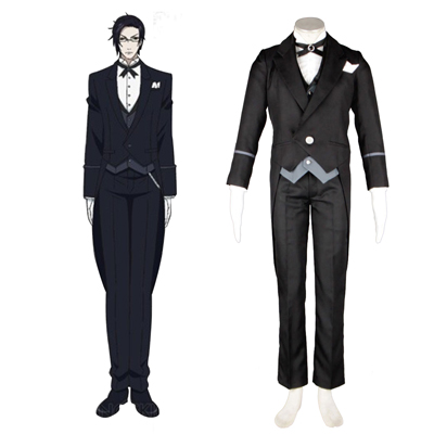 Black Butler Claude Faustus 1ST Cosplay Costumes