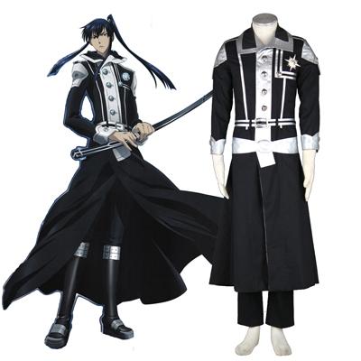 D.Gray-man Yu Kanda 1ST Cosplay Costumes