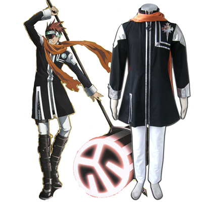 D.Gray-man Lavi 1ST Cosplay Costumes