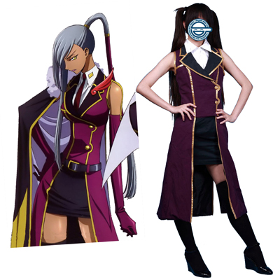 Code Geass Villetta Nu 1ST Cosplay Costumes