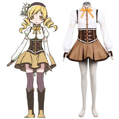 Puella Magi Madoka Magica Tomoe Mami 1ST Cosplay Costumes
