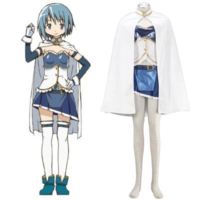 Puella Magi Madoka Magica Miki Sayaka 1ST Cosplay Costumes