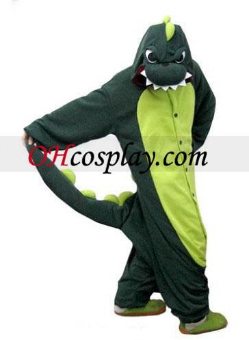 Dinosaur Kigurumi kostyme pyjamas